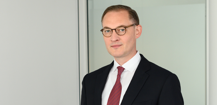 photo of Orrick partner Fabian von Samson-Himmelstjerna