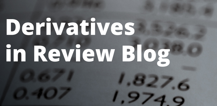 Derivatives in Review Blog