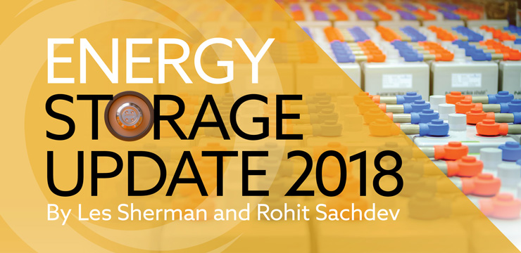 Energy Storage Update 2018
