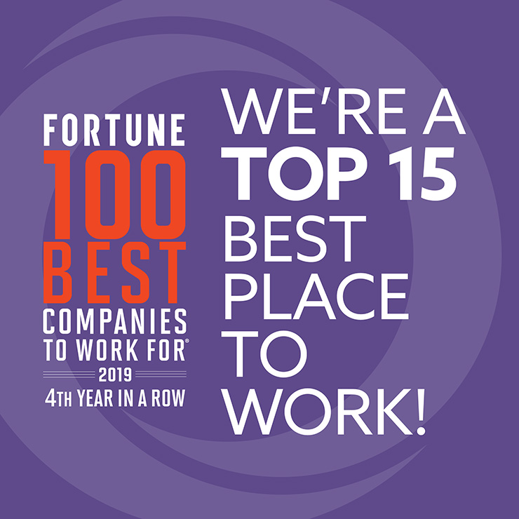 Fortune Best Place to Work 2019