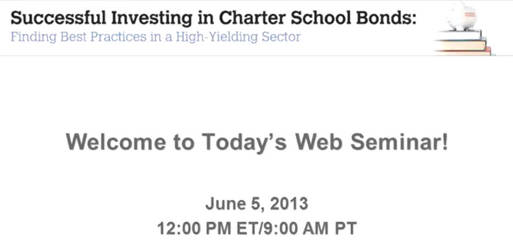 Successful Investing in Charter Schools Part I – Successful Investing