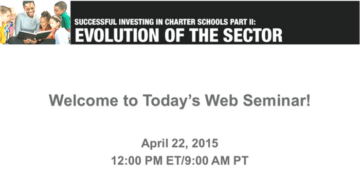 Successful Investing in Charter School Part II – Evolution of the Sector
