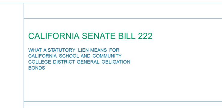 Califonia Senate Bill 222