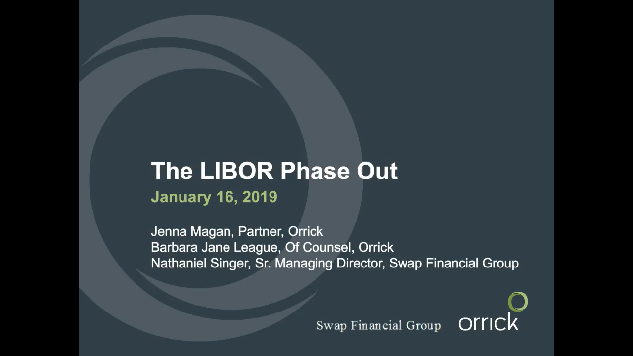 Webinar: The LIBOR Phase Out